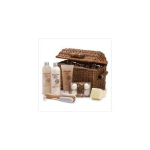 Sandalwood Naturals Spa Basket Lotion Scrub Crystals $29.75