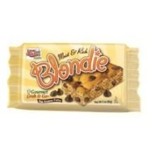 Love and Quiches Gourmet Grab and Go Brownie Blondie Snack Bar with Merchandaiser, 3 Ounce -- 48 per case.