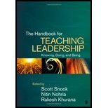 img - for The Handbook for Teaching Leadership. (SAGE Publications, Inc,2011) [Hardcover] book / textbook / text book