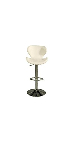 Ivory Hydraulic Bar Stool