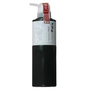 泥炭石竹炭 コンディショナー ポンプ 450ml