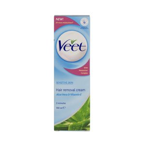 Veet Hair Removal Cream For Sensitive Skin (100ml)