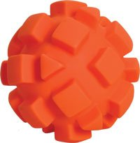 Bumpy Ball Dog Toy – Orange – 5.5 in