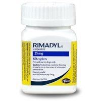 Rimadyl (carprofen) 25mg, 60 Caplets Picture