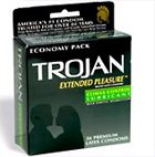 Trojan Economy Pack! (36 Condoms) Extended Pleasure Climax Delay Control Lubricated Latex Condoms