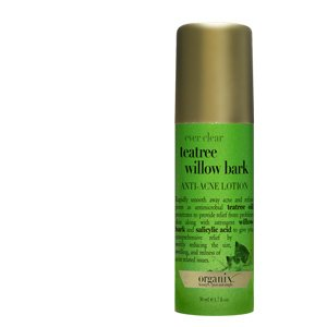 Organix: Ever Clear Teatree Willow Bark, Anti Acne Lotion, 1.7 Oz