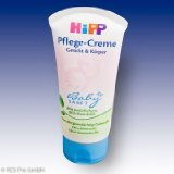 HiPP Baby Gentle Care Cream Face & Body 75ml / 2.54oz. with organic almond oil - 1