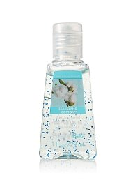 Bath and Body Works Sea Island Cotton Antibacterial Hand Gel Pocketbac, 1 oz