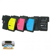 Refillable Multi-Color Ink Cartridge for Brother LC38/LC61/LC67