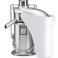 Waring Commercial JE2000 Heavy-Duty Stainless Steel Juice Extractor with Pulp Ejection by Waring