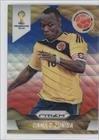 Camilo Zuniga Colombia (Trading Card) 2014 Panini Prizm World Cup Blue & Red Blue Wave Prizms #49