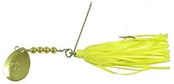 Yakima Hildebrandt Snagless Sally Lure, Yellow, 3/8 Oz.