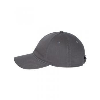 Econscious - Organic Cotton Baseball Cap - 7000 - Adjustable - Charcoal front-406736