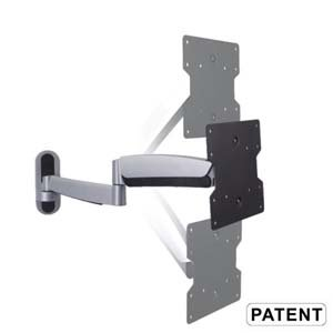 Counterbalance Full Motion TV Wall Mount 23~42