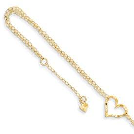 Genuine IceCarats Designer Jewelry Gift 14K Double