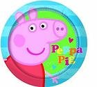 Peppa Pig Disposable Party Plates x 8