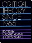 img - for Critical Theory Since 1965 book / textbook / text book
