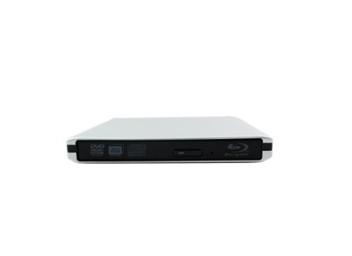 Epartsdom@Silver Aluminum External Usb 3.0 Blu-Ray Player/Dvd/Cd Combo Drive For Apple--Macbook Air, Pro, Imac, Mini