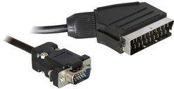 Delock 65028 - Cavo Adattatore Scart - VGA -2m