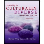 img - for Counseling the Culturally Diverse by Sue, Derald Wing, Sue, David. (Wiley,2007) [Hardcover] 5th Edition book / textbook / text book