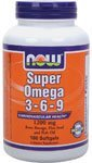 219TCKcF8%2BL. SL160  Now Foods Super Omega 3 6 9 Soft gels, 1200Mg, 180 Count