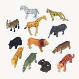 US Toy Mini Wild Animals Action Figure