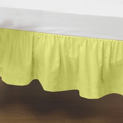 Yellow Crib Dust Ruffle