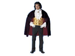 Count Gustoff Vampire Gothic Costume Adult