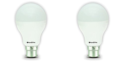 12W LED Bulbs (Cool White, Pack of 2)