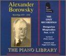 Liszt Recordings 1935-1938