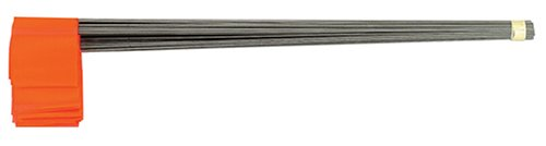 Johnson Level & Tool 3350-O Stake Flags, Glo Orange, 100-Bundle