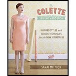 The Colette Sewing Handbook Inspired Styles and Classic Techniques for the New Seamstress by Mitnick, Sarai [Krause Publications,2011] (Hardcover-spiral) (The Colette Sewing Handbook compare prices)