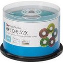 HP COLOR LIGHTSCRIBE 52X CD-R 50PC CAKE BOX