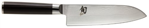 Kai Shun Damascus Santoku Chefs Knife 165mm