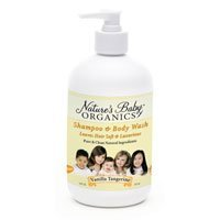 Nature's Baby Organics Shampoo and Body Wash (Vanilla/Tangerine)-16 oz. - 1