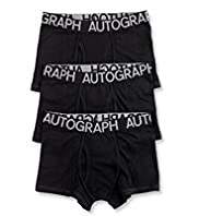 3 Pack Autograph Cotton Rich Trunks