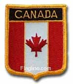 Canada - Country Shield Patches