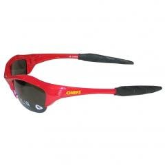 NFL Kansas City Chiefs Blade Runner UVA UVB Sunglasses Sports Fashion Accessory by NFL