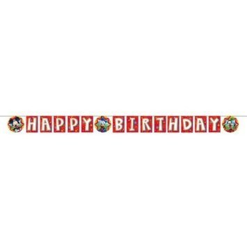 Mickey Mouse 'Playtime' Happy Birthday Banner (1ct)