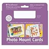 "Strathmore Cards & Envelopes 5""X7"" 10/Pkg-White Photo Mount"