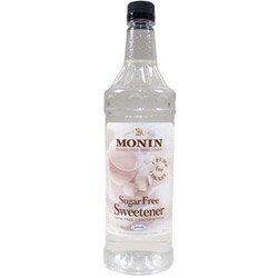Monin Pet O'Free Sugar Free Sweetener, Liter (01-0074) Category: Drink Syrups from Monin Inc.