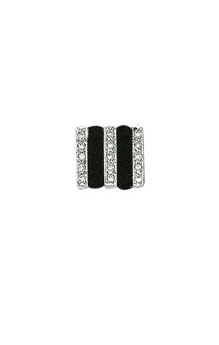 14K White Gold and Onyx Rectangle Tie Tac-88475