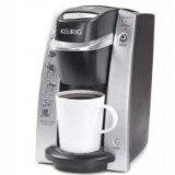 Keurig K130/b130 Brewing System + Mind Reader Anchor Coffee Pod Storage Drawer for 36 K-cup's Black + Keurig Medium Roast Coffee Variety Box 48-pk. K-cups