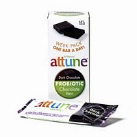Attune Foods Dark Chocolate Probiotic Bar -- 4x7x.7 Oz (Attune Bars compare prices)
