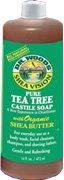 Tea Tree Castile Soap 32 Ounces