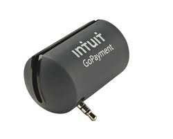 Intuit Mobile Card Reader Swiper Smartphone Iphone/iPad/Android Black Matte Model New