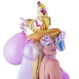 Inflatable Hen Night Hat - Chicks Go Wild - Ideal for the Bride to Be!