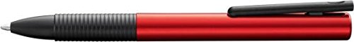 Red Tipo Capless Auminium Rollerball Pen by Lamy rollerball pen 0 5 tip m