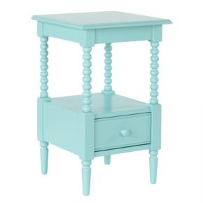 Kids Nightstands: Kids White Spindle Jenny Lind Nightstand, Az Jenny Lind Nightstand (B008JG99L8)