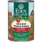 Eden Foods Diced Tomatoes -- 14.5 oz